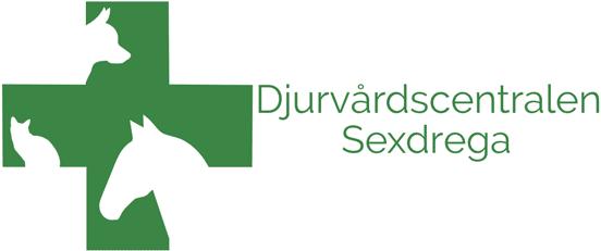 Logotyp för Djurvårdscentralen Sexdrega